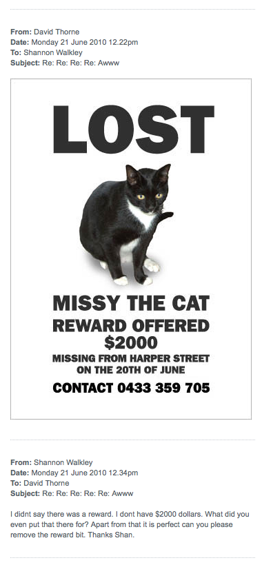 Missing Missy 10